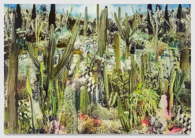 Rosson Crow, 'Vibrational Dazzle in the Cactus Garden', 2016