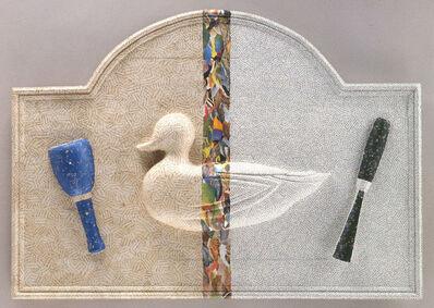 Jirí Kolár, 'Fable du ciseau et du maillet qui ont donné naissance à un canard', 1988