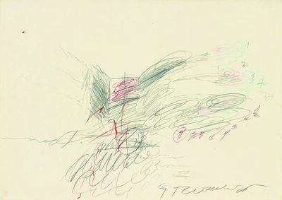 Cy Twombly, 'Untitled', 1963