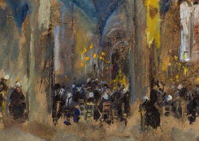 Martha Walter, 'Pardon St. Anne la Palud, Brittany', 1923