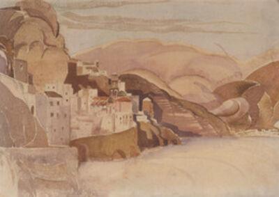 Louis Kahn, 'Atrani from Torre Saracena, Amalfi Coast, Italy', 1929