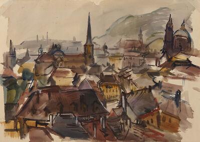Freda Salvendy, 'Prague', 1947