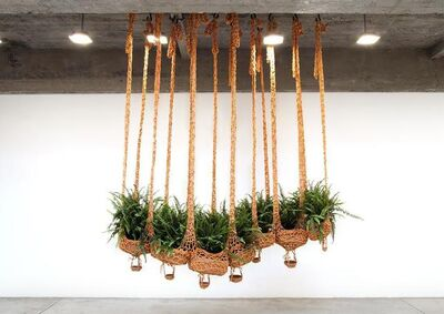 Ernesto Neto, 'Flying fern, cater-boa-pillar, cleaning air, cleaning earth', 2016