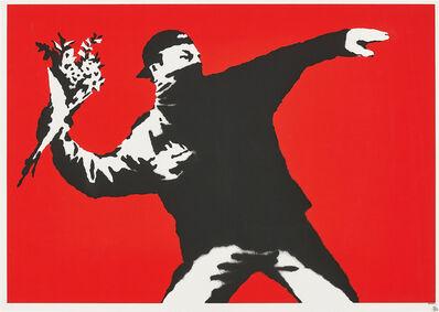 Banksy, 'Love is in the Air', 2003