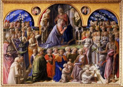 Fra Filippo Lippi, 'Coronation of the Virgin', 1429-1447