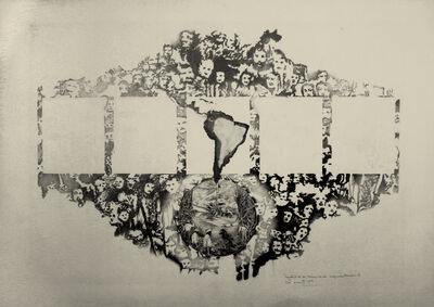 Elda Cerrato, 'Tentativas de técnicas de segmentación 4', 1979