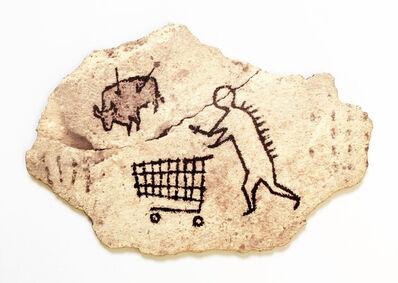 Banksy, 'Peckham Rock Wooden postcard', 2005