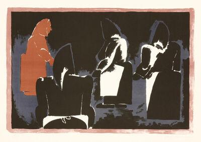 Josef Herman RA, 'Four Fisherwomen'
