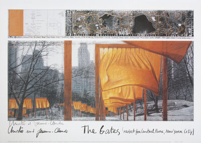 Christo and Jeanne-Claude, 'The Gates', 2003