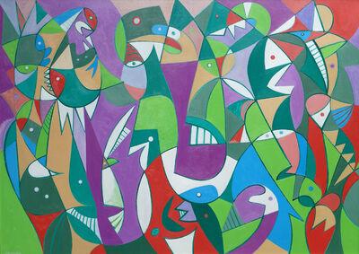 George Gordienko, 'Abstract Fantasy', ca. 2000