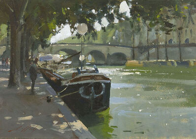 Paul Rafferty, 'River Boats on the Seine', 2015