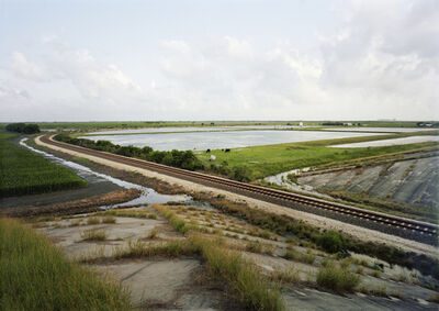 Victoria Sambunaris, 'Untitled (Train Tracks), Port Lavaca, Texas', 2015