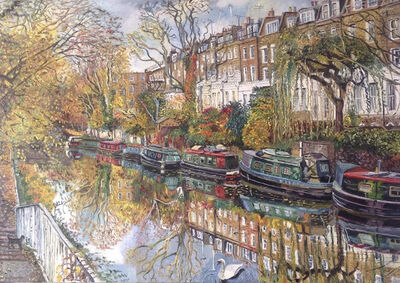 Melissa Scott-Miller, 'Autumn at the Regent's Canal', 2017