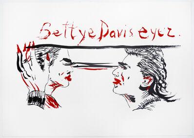 Raymond Pettibon, 'Untitled (Betty Davis Eyez)', 2018
