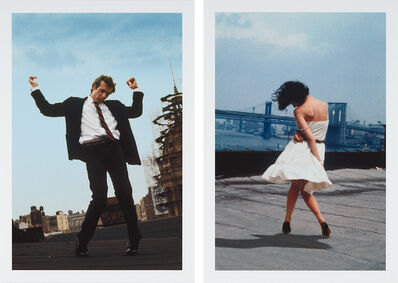 Robert Longo, 'Untitled (Men in the Cities-1); and Untitled (Men in the Cities-9), from Men in the Cities', 2005