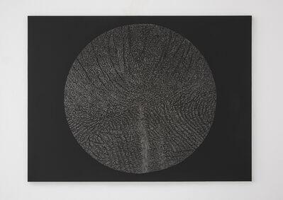 Giuseppe Penone, 'PELLE DI GRAFITE - Tondo B', 2012