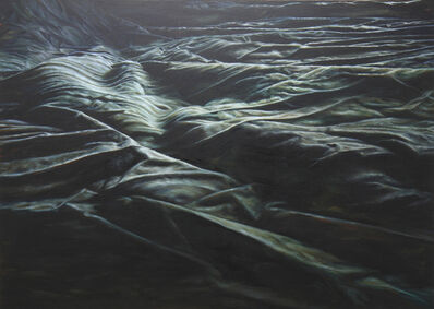 Cindy Wright, 'Black waves II', 2011