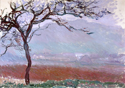 Claude Monet, 'Landscape at Giverny'