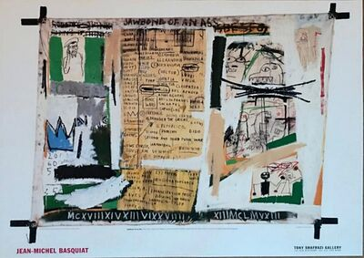 Jean-Michel Basquiat, 'Jawbone of an Ass ', 1999