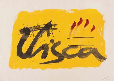 "Antoni Tàpies, '""La Clau del Foc""', 1973"