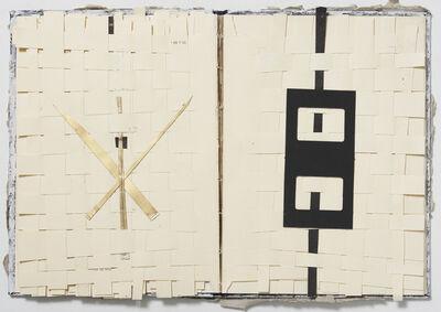 Mirella Bentivoglio, 'Equivalenze testo - tessuto', 1988