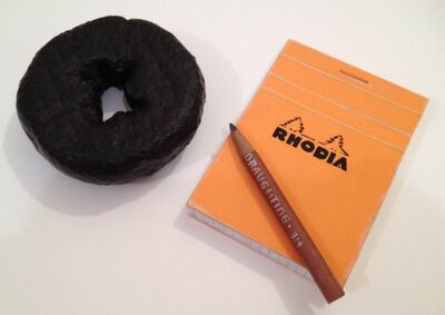 Richard Baker, 'Pencil, Pad and Donut Tableau', 2013