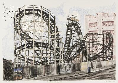 Chris Orr, 'Cyclone - Coney Island', 2010