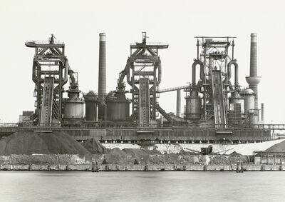Bernd and Hilla Becher, 'Blast Furnace Plant, Lübeck-Herrenwyk, Germany', 1983