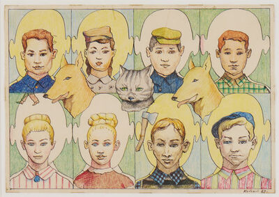 Ilya Kabakov, 'Full Family', 1967