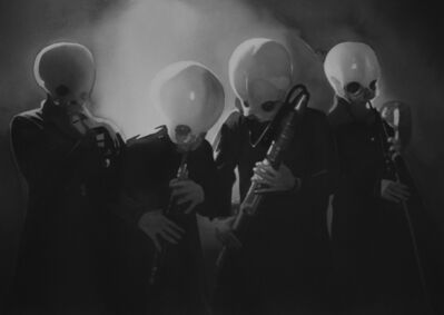 Radenko Milak, 'The alien band / Star Wars IV (#27)', 2018