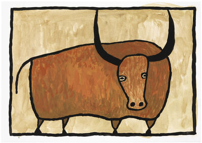 Judy Kensley McKie, 'Bull', undated