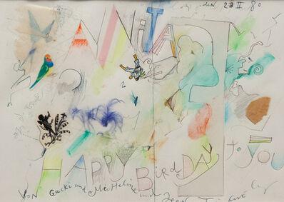 Jean Tinguely, 'Happy Birdday', 1980