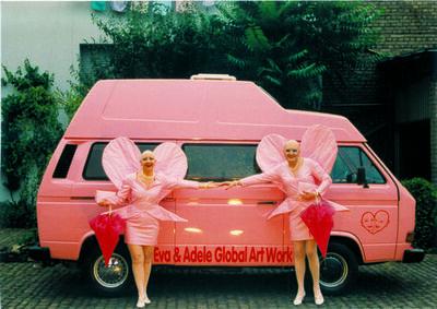 Eva & Adele, 'Biographische Skulptur n°2 B-EA 5800, Camping-car VW', 1999-2006