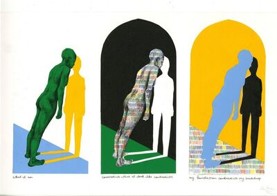 Aïsha Lehmann, 'What I Am Contradicts What I Look l Like Contradicts My Foundation Contradicts My Backdrop. (1)', 2020