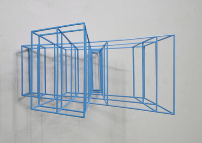 Paolo Cavinato, 'Wing #2 (metallic light blue)  ', 2019