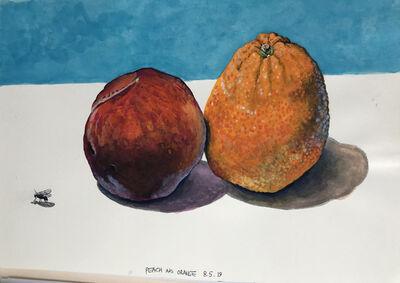 Cole Case, 'Peach and Orange 8.5.19', 2019