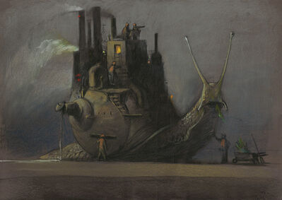 Shaun Tan, 'Industry', 2016