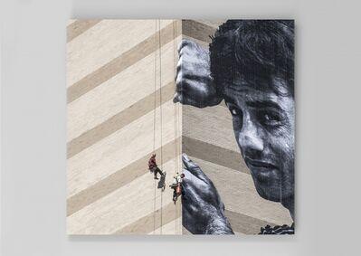 JR, 'Migrants, Ibrahim Mingora, Close-up, Philapdelphia, USA, 2015', 2015