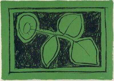Joan Hernández Pijuan, 'Flor sobre verd', 1987