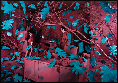 Sandy Skoglund, 'A Breeze at Work', 1987