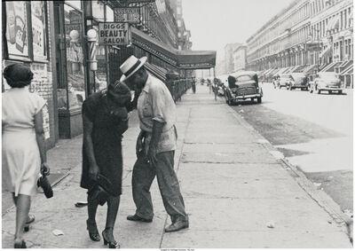 Helen Levitt, 'A Group of Three City Scenes'