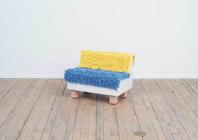 James Hyde, 'Shag Loveseat', 2015