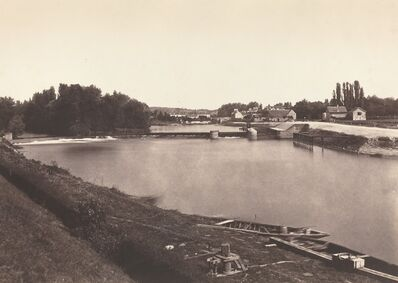 Édouard Baldus, 'L' Isle Adam', 1855