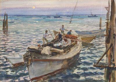 John Whorf, 'Fisherman's Moon', 1947