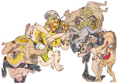 Howie Tsui 徐浩恩, 'Of Shunga & Monsters (Composite 1)  魔兽春宫图(合一)', 2015