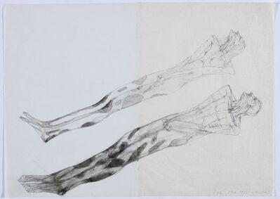 Walter Pichler, 'GUL (2 Figuren liegend)', 1983