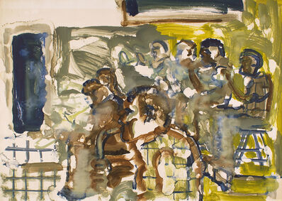 Romare Bearden, 'PRESERVATION HALL-SAINTS COME MARCHING IN', na