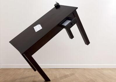 Emmanuele De Ruvo, 'The Pen is on the Table ', 2017