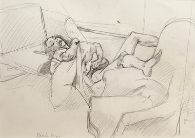 Paula Rego, 'Study for abortion 2', 1999