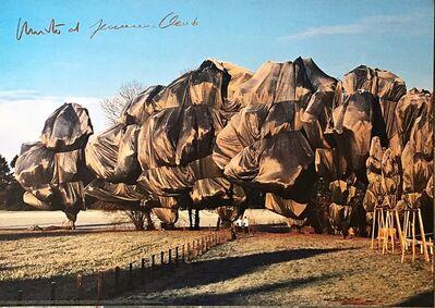Christo, 'Wrapped Trees, Fondation Beyeler, Switzerland (Hand Signed) ', ca. 1998